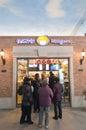 Przy Han ulicą cytryna szczęśliwy sklep Fotografia Stock