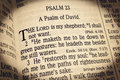 Psalm 23 - The Lord is my Shepherd Royalty Free Stock Photo