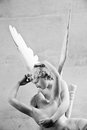 Psyche revived by Cupid kiss Stock Photo