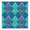 Geometric Pattern Blue and turquoise