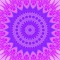 Psychedelic Mandala Star Fract...