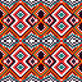 Psychedelic pixels on a black background beautiful pattern Royalty Free Stock Photo