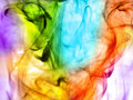 Psychedelic smoke Royalty Free Stock Photo