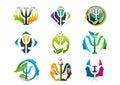Psychology concept logo design