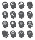 Psychology vector icons set