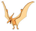 Pteranodon for children Stock Photo