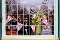 Pub Window Royalty Free Stock Photo