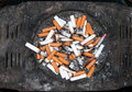 Public ash - tray Royalty Free Stock Images