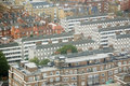 Public Housing from above, Westminster Royalty Free Stock Image