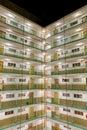 Public housing estates Royalty Free Stock Photography