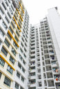 Public housing high rise apartment building of Royalty Free Stock Photography