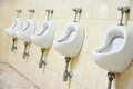 Public men's toilet Royalty Free Stock Photo