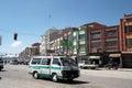 Public minibus transport in El Alto, La Paz, Bolivia