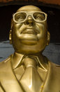 Public monument statue to bhimrao ramji ambedkar who campaigned against poor treatment untouchables india s caste system went to Royalty Free Stock Photography