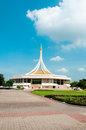Public park suanluang rama thailand monument at blue sky at Royalty Free Stock Images