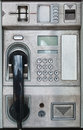 Public payphone card telephone interface Royalty Free Stock Images