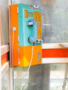 Public phone Stock Photography