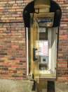 Public phone tokyo of a street in Stock Photo