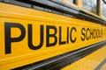 Public School Bus Royalty Free Stock Image