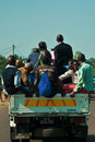 Public transportation in Africa Royalty Free Stock Photos