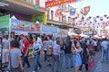 Publicación anual autumn moon festival de chinatown Foto de archivo libre de regalías