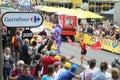 The publicity caravan on stage 3 of the 2017 Tour de France