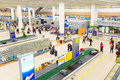 Pudong Airport baggage claim hall Royalty Free Stock Photo