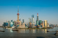 Pudong skyline shanghai china april … discrict at the city of in on april th Royalty Free Stock Photos