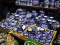 Puebla Dishware Royalty Free Stock Image