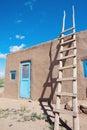 Pueblo in Taos Royalty Free Stock Photo
