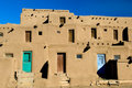 Pueblo village Royalty Free Stock Images
