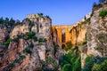 Puente Nuevo Bridge in Ronda, Spain Royalty Free Stock Photo