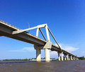 Puente pumarejo in barranquilla colombia by the magdalena river Stock Photography
