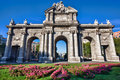 Puerta de Alcala Royalty Free Stock Photos