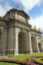 Puerta de Alcala Royalty Free Stock Photography