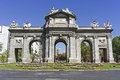 The Puerta de Alcala, Madrid Stock Photography
