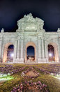 Puerta de Alcala at Madrid, Spain Royalty Free Stock Image