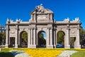 The Puerta de Alcala - Madrid Spain