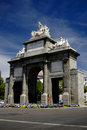 Puerta de Toledo, Madrid Royalty Free Stock Images