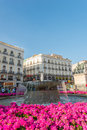 Puerta del Sol Madrid Stock Photo