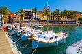Puerto andratx mallorca in spain Royalty Free Stock Photography