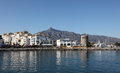 Puerto banus marbella spain the marina of costa del sol andalusia Stock Images