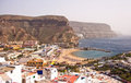 Puerto de Mogan Royalty Free Stock Photo