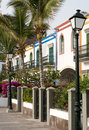 Puerto de Mogan Canary Islands Royalty Free Stock Photo