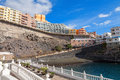 Puerto de santiago tenerife spain view of canary islands Royalty Free Stock Photography