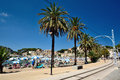 Puerto de soller majorca spain Stock Photo