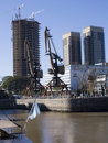 Puerto Madero, Buenos Aires Royalty Free Stock Photo