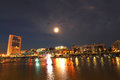 Puerto madero in buenos aires night shot of the argentina south america Stock Photo