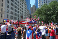 Puerto rican day parade the on fifth avenue new york Stock Photo