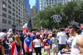 Puerto rican day parade the on fifth avenue new york Royalty Free Stock Images